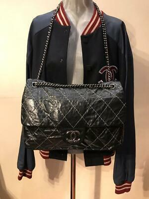 04d7469811006a CHANEL CLASSIC JUMBO Double Flap Gold Patent Leather Rare ...