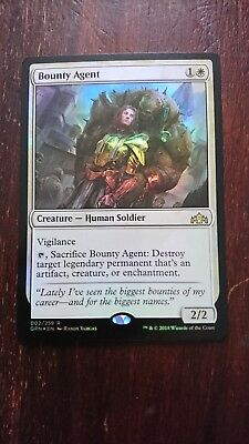 Bounty Agent Guilds of Ravnica Rare NM//M x1 Magic FAST FREE SHIP Details about  /MTG