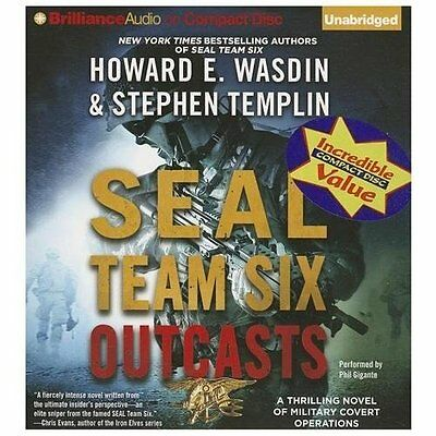 SEAL TEAM SIX Outcasts by Stephen Templin and Howard E