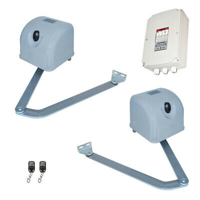 ALEKO Full Kit Articulated Swing Gate Opener For Dual Gates Up To 700lb
