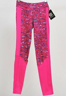 NEW Champion Performance Girls Duo Dry Stretch Leggings:  Size L 10-12 Pink