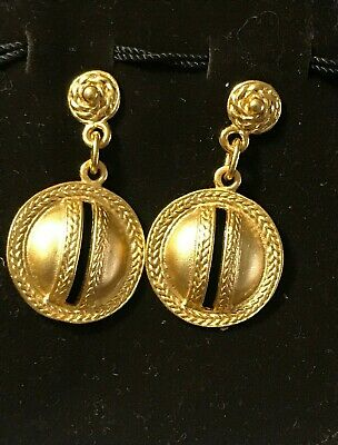 Pre-columbian Reproduction 24 Karat Gold Plated Moneda Largo