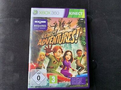 Kinect Adventures - Jeu Xbox 360 Complet Comme NEUF