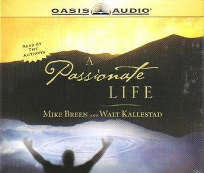 A PASSIONATE LIFE.  Mike Breen / Walt Kallestad.  CHRISTIAN.  OASIS / 3 CD BOOK.