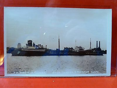 Postcard RPPC Real Photo SS Virginia Trader Ship American Trading & Production