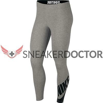 d69c9dbdfbd5d NIKE WOMEN'S LEG A See Logo Club Futura Leggings Black or Navy Pants ...