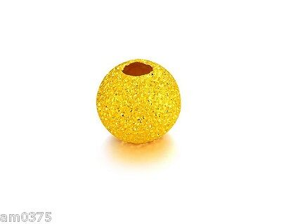 1pcs Hot Sale Pure 999 24k Yellow Gold Bead Lucky Carved DIY Bead Pendant