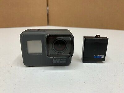 GoPro HERO 5 Black 4K Ultra HD Action Camera w/ battery *TESTED WORKING*