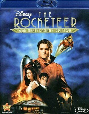 New Blu Ray - Disney Classic- The Rocketeer -  Alan Arkin, Paul Sorvino,Comedy