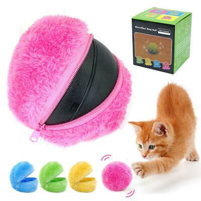Magic Roller Ball Dog Cat Toys Automatic Robotic Microfiber Mop Ball Sweeper