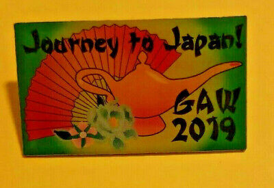 2019 Grant A Wish Journey to Japan Convention Pin
