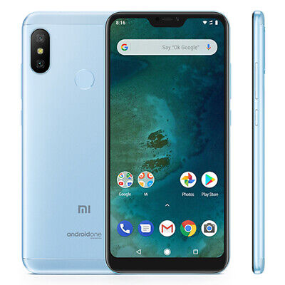 Xiaomi A2 Lite 4+32Go Global Version 4G Smartphone Android one OctaCore Touch ID