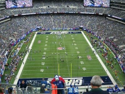 2 Pre Season New York Giants Vs New York Jets Week 1 With Parking No Reserve