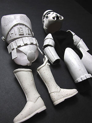 "1/6 Star Wars Stormtrooper Kenner Armor outfit Set - 12"" Darth Vader Trooper"