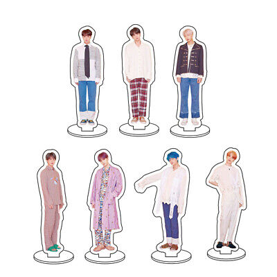 Kpop BTS Map of The Soul Mini Acrylic Standee Figure Doll Cute Standing Action