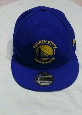 newest collection d604c aa291 Official Golden State Warriors New Era NBA Cap 9FIFTY Snapback Hat - Used