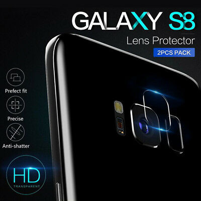 3 pair Tempered Glass Camera Lens Protector Film Cover For Samsung Galaxy S8 S9