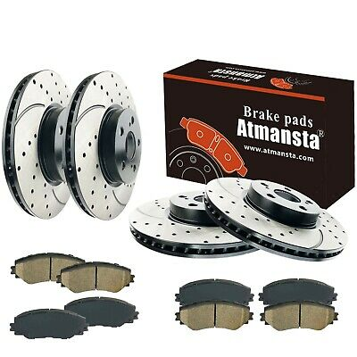 Front Brake Rotors Pads for 2002-2006 Acura RSX TYPE-S
