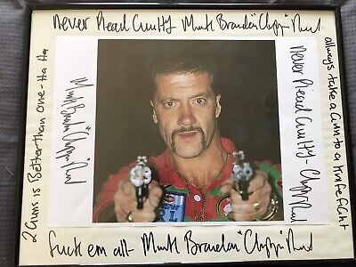 Autograph signed photo picture of mark Brandon chopper read quotes