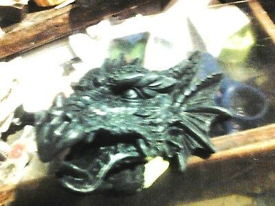 OPEN MOUTH DRAGON Head Mold Latex for Concrete or Plaster