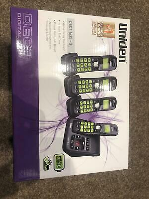 Uniden cordless home phone combo sect 1635 +3