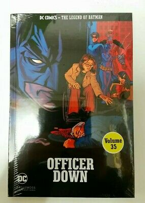#35 The Legend of Batman Officer Down Graphic novel DC comics