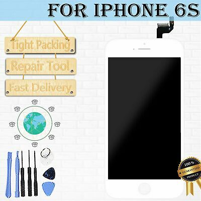 """For iPhone 6S Screen LCD Digitizer Assembly White Display Replacement 4.7"""" Touch"""
