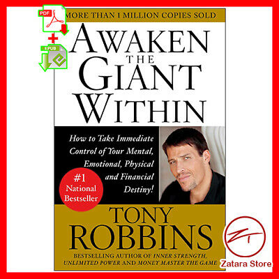 AWAKEN THE GIANT Within by Tony Robbins Origiinal PDF+EPUB+MOBI 2019