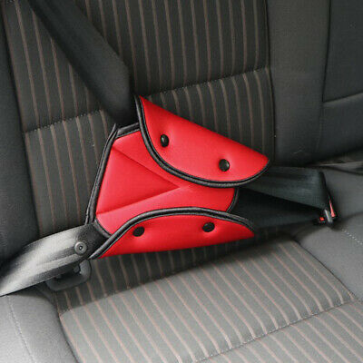 1x Kids Car Seat Belt Triangle Adjuster Safety Holder Protect Child Seat Cover