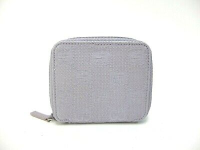 04501f2912e AUTHENTIC GUCCI WALLET Bamboo GG Canvas 112521 -  21.00