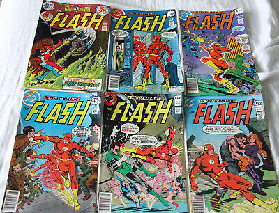 Job Lot of 6 Late 70's Flash 230,271-273,276,280