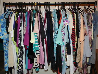 Job Lot Of 50 Grade B Branded Ladies Clothes