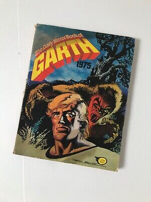 The Daily Mail Book of Garth 1975 Annual -A Fleetway Annual