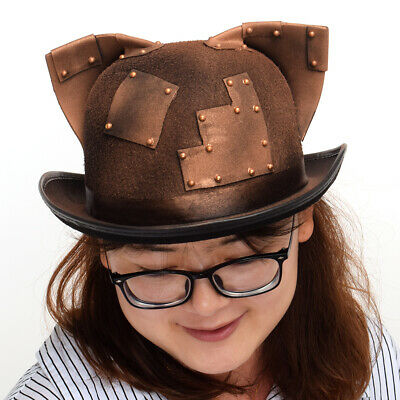 Steampunk Vintage Hat Gothic Cosplay Halloween Fancy Dress Costume Accessory