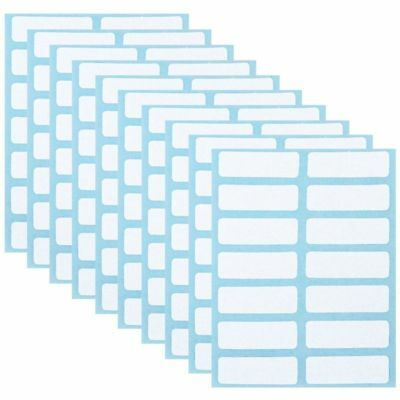 12Sheets 13x38mm White Price Sticker Self Adhesive Labels Blank Name Number Tags
