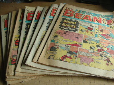 💥 Beano Comics 💥10 Issues From The 1980's