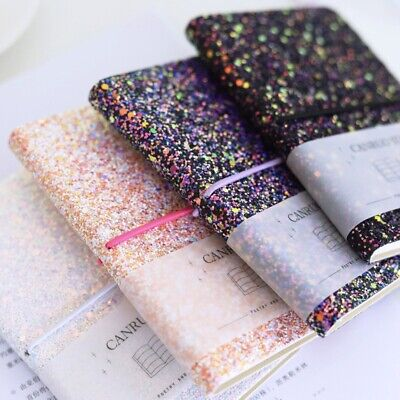 """""""BlingBling"""" 1pc Pocket Diary Lined Papers Notebook Beautiful Journal Girls Gift"""
