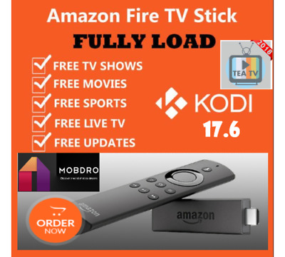 Amazon Fire TV Stick with Alexa Voice Remote Streaming 2nd Gen Hacked