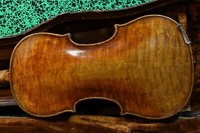 A stunning fine old violin labeled Carlo Bergonzi 1742