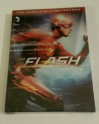 The Flash Complete First Season Brand New Dvd