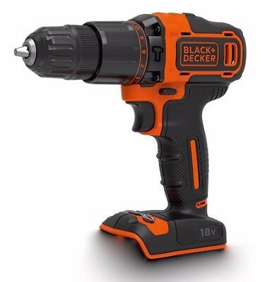 Black & Decker Cordless Hammer Drill 18V Bare Unit ( No Battery or Charger )