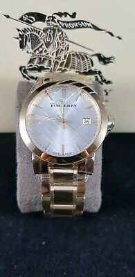 a2d4fb7af6f BURBERRY MENS GOLD Stainless Steel Watch BU9003 -  135.00