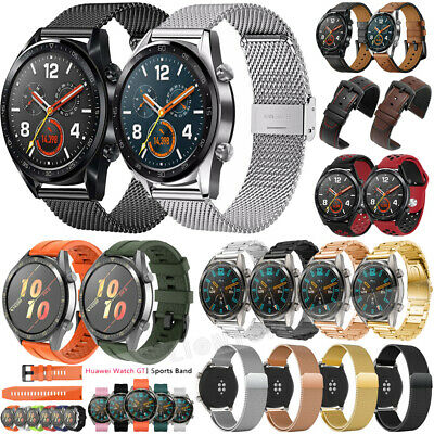 For Huawei Watch GT Active Elegant Silicone Soft Watch Band Wristband Strap 22mm