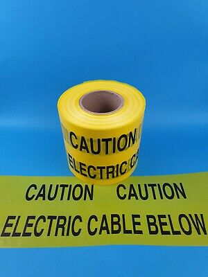 New ProTec Hazard Caution Electric Cable Below Warning Tape cut to length