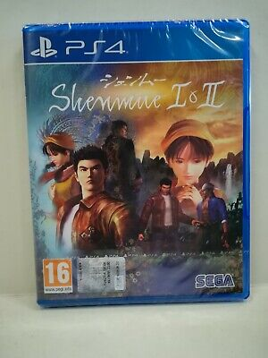 Shenmue I & Ii (1 & 2) Ps4 New Sealed, Nuovo