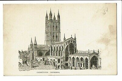 CPA -Carte postale-Royaume Uni - Gloucester- Cathedral  VM2364