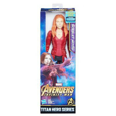 "Marvel Avengers Scarlet Witch Infinity War 12"" Action Figure Titan Hero Series"