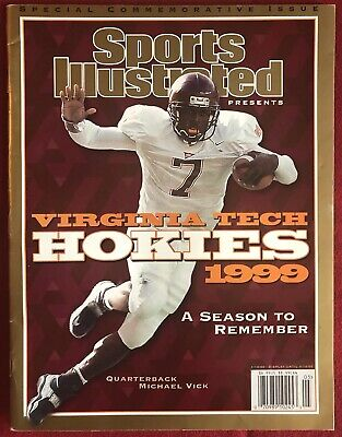 Sports Illustrated 1999 Virginia Tech Michael Vick FIRST COVER Commemorative