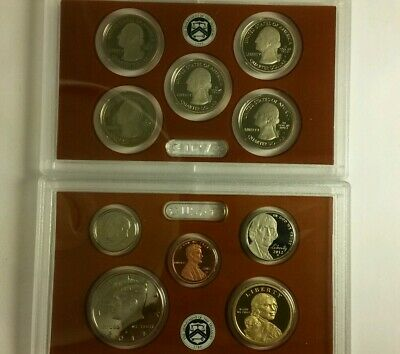 2012 United States Mint Proof Incomplete Set 10/14 Coins With Box