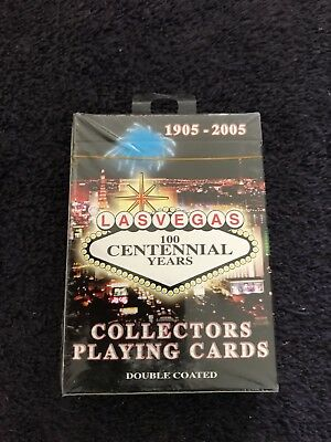 Las Vegas Centennial Playing Cards - sealed deck - 2005 Limited Edition
